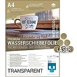SKULLPAPER® Wasserschiebefolie TRANSPARENT für...